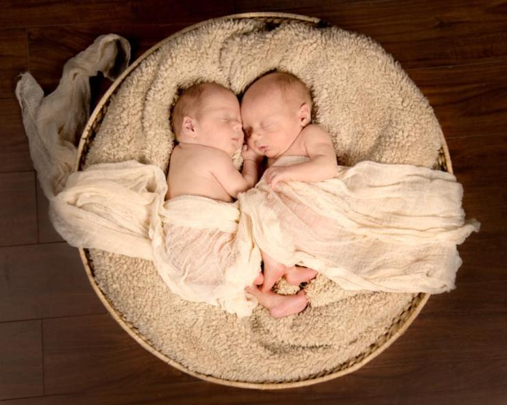 Landrus twins babies